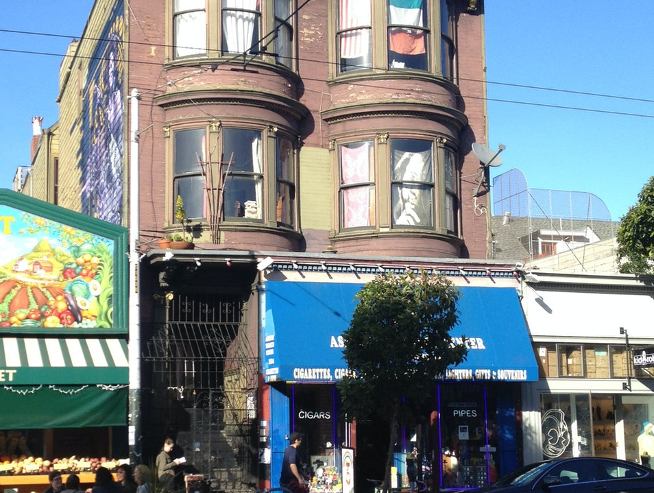 Jimi Hendrix Apartment - Haight Ashbury San Francisco California United States