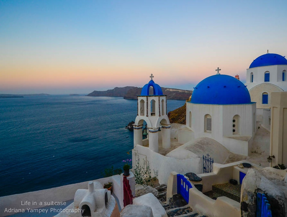 Sunrise in Oia Oia  Greece