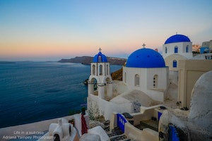 View from the Top: Experience Santorini