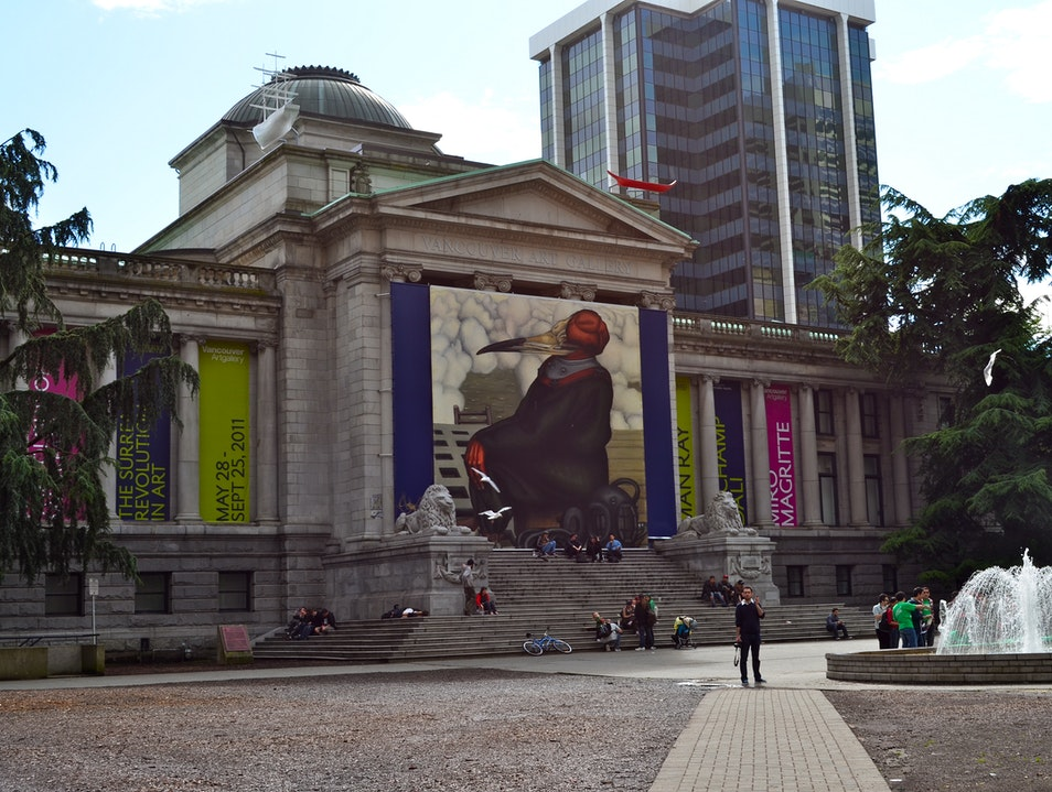 Vancouver's Art Gallery: Canadian & International Art Vancouver  Canada
