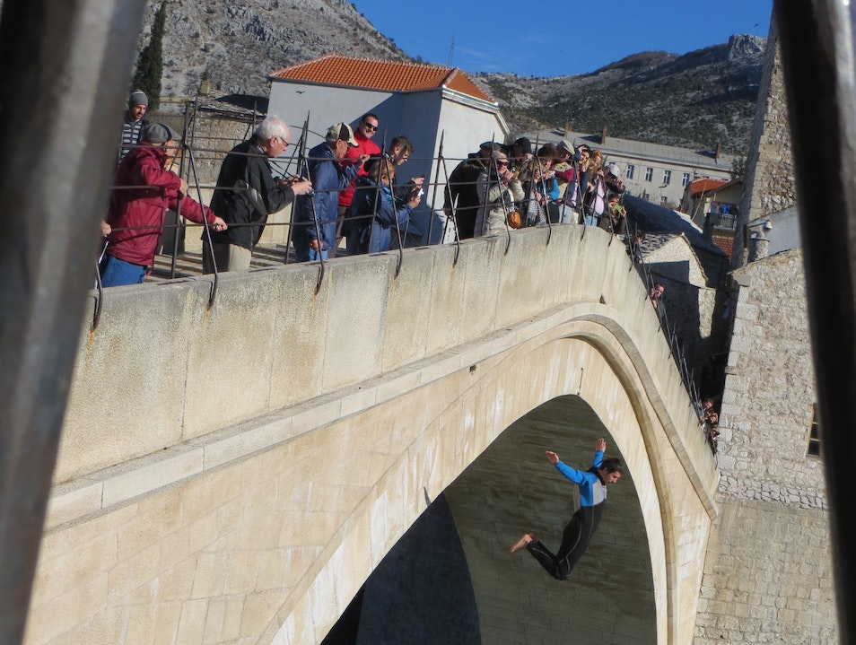Carrying on the tradition .. Mostar  Bosnia and Herzegovina