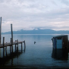 West Dock of Panajachel, Guatemala