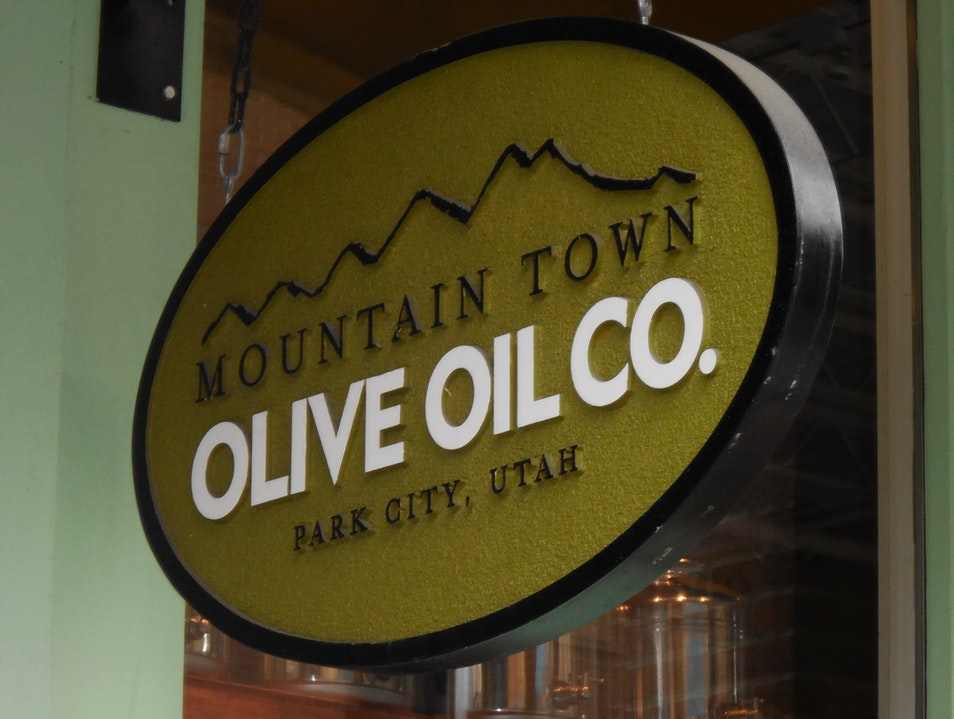 The Best Dressing: Mountain Town Olive Oil Park City Utah United States