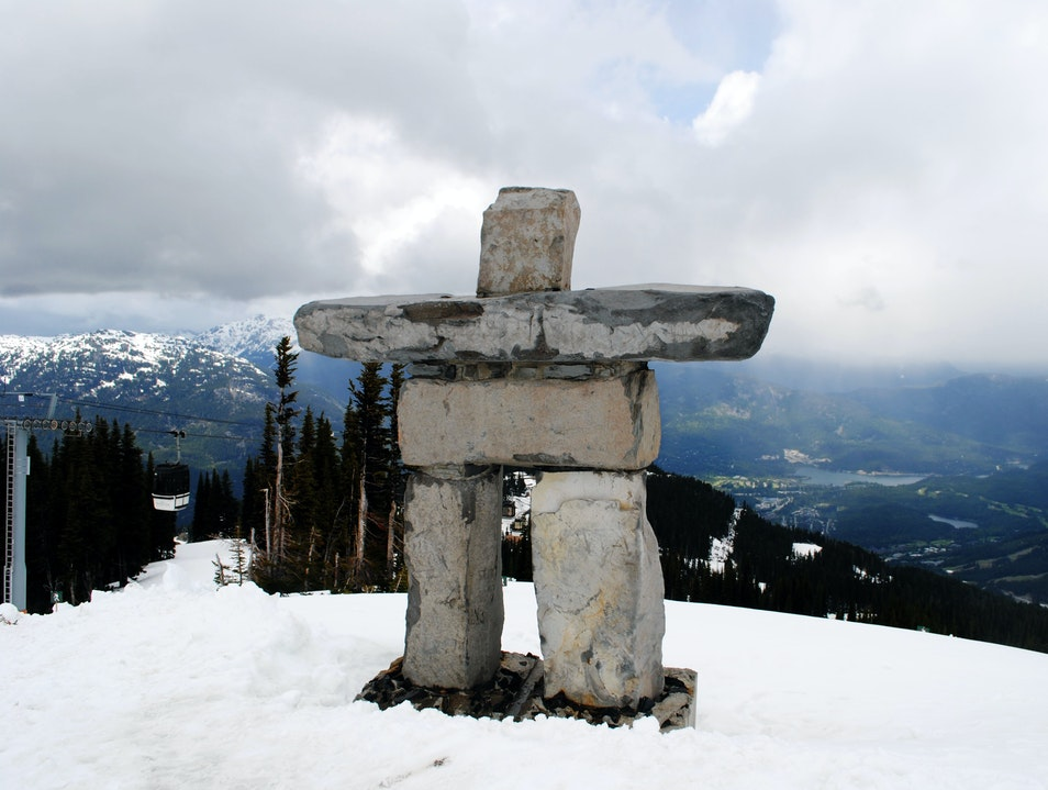 The Top of Whistler Mountain Whistler  Canada
