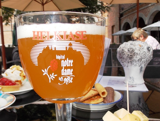 In Belgium:  Interesting places have good beer