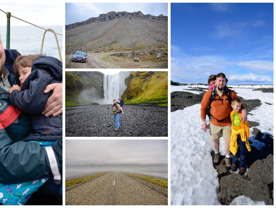 In Iceland with kids