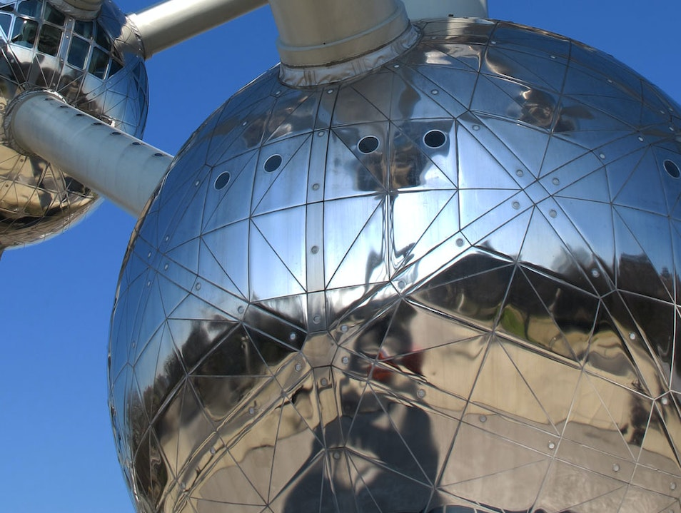 The amazing Atomium Brussels  Belgium
