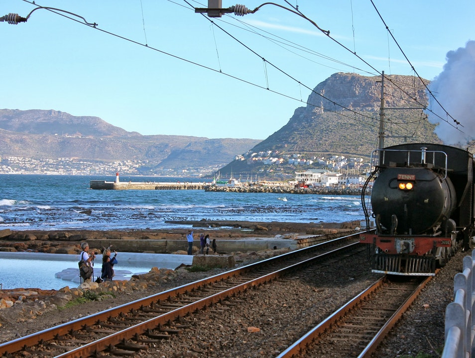 Travel by Steam Train to Simonstown Cape Town  South Africa
