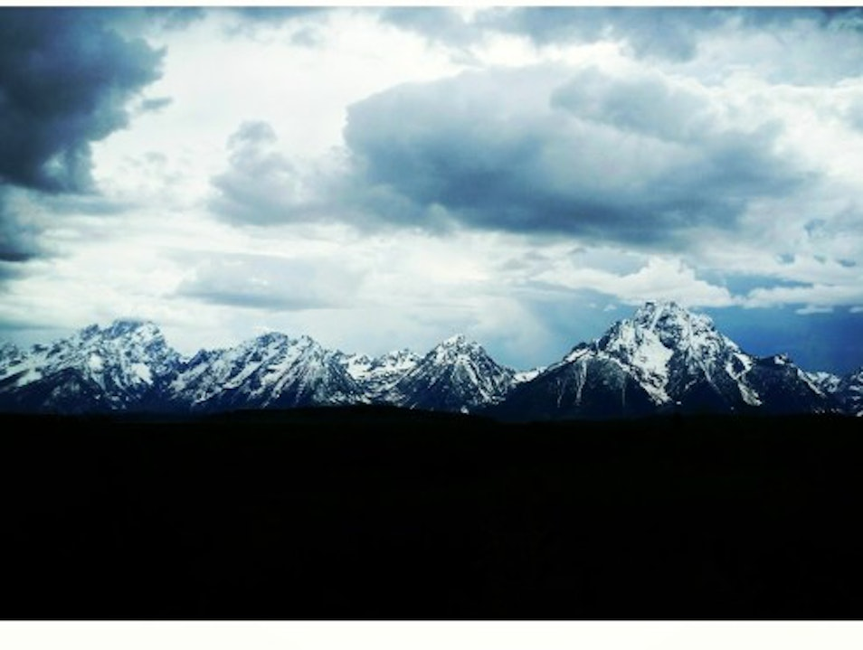 Jackson Hole and Grand Teton National Park Moose Wyoming United States