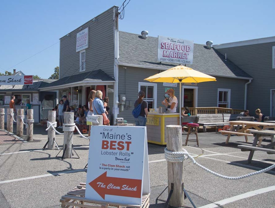 The Shack With The Best of The Best Lobster Roll Kennebunk Maine United States