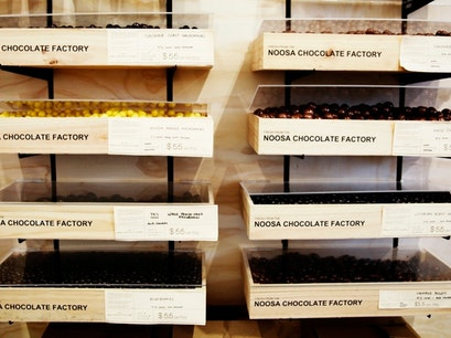 Noosa Chocolate Factory Brisbane City  Australia