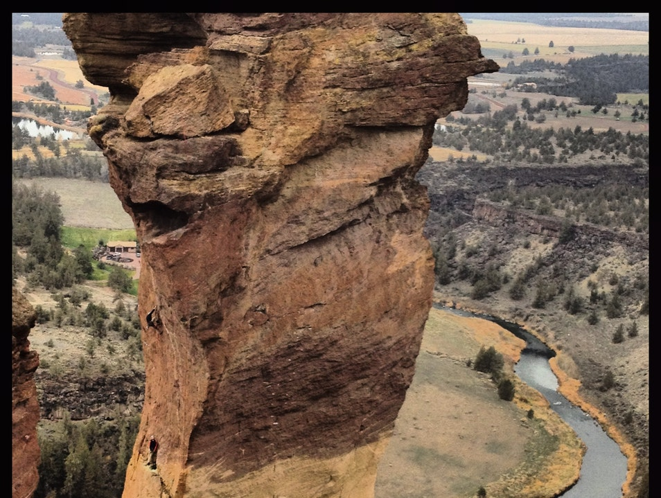 Smith Rock State Park Rocks Terrebonne Oregon United States