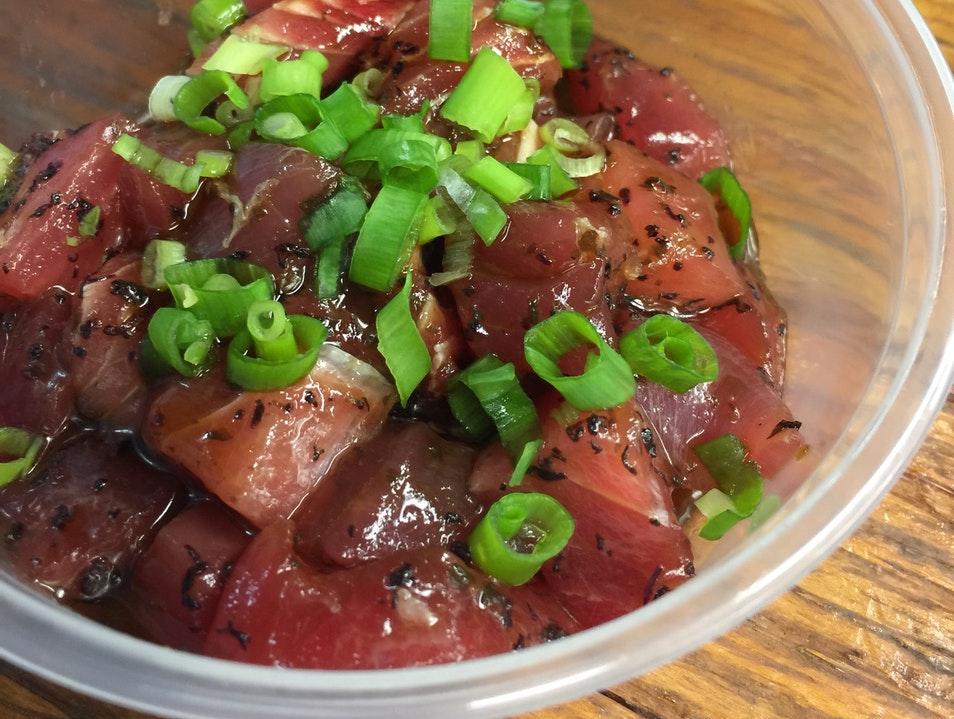 Get Ultra Fresh Poke at Hidden Gem Maguro Brothers Honolulu Hawaii United States