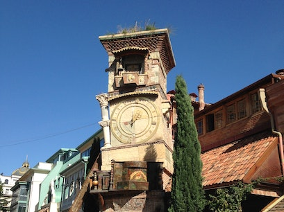 Puppet Theater Clock Tower Tbilisi  Georgia