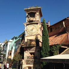 Puppet Theater Clock Tower