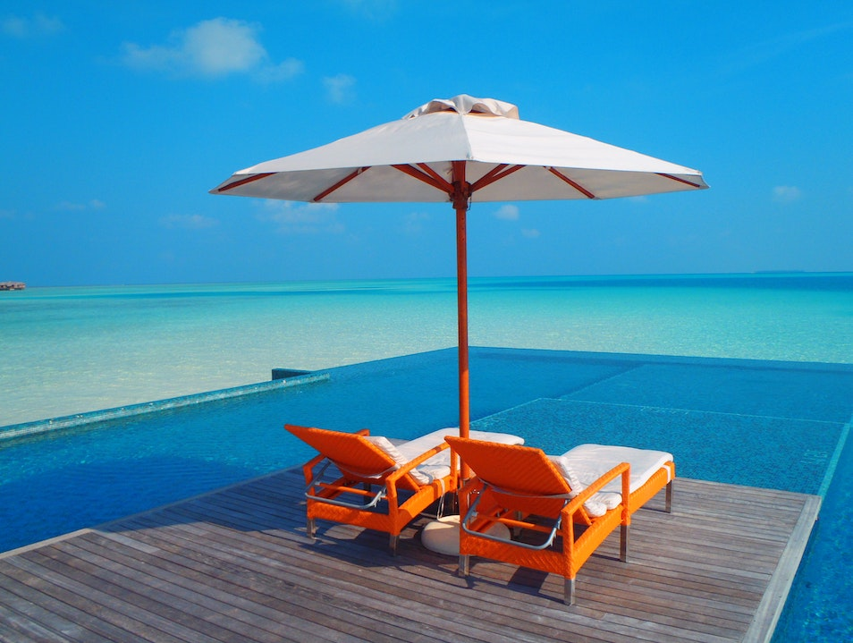 Quite Zone Pool - Paradise is closer than you think Mandhoo  Maldives