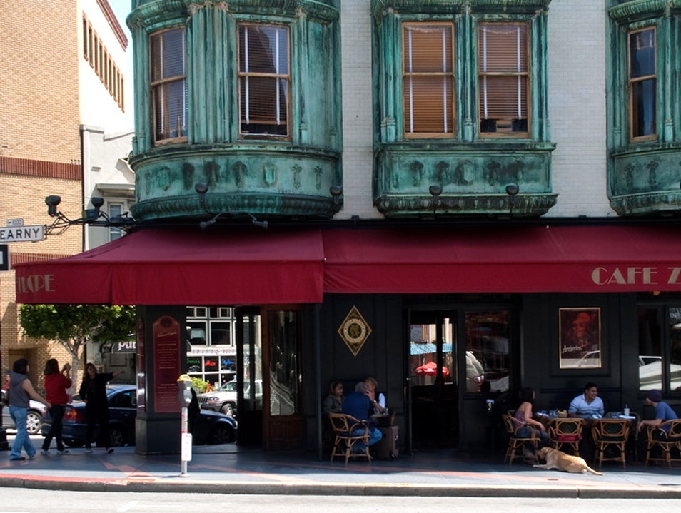Francis Ford Coppola's North Beach Haunt San Francisco California United States
