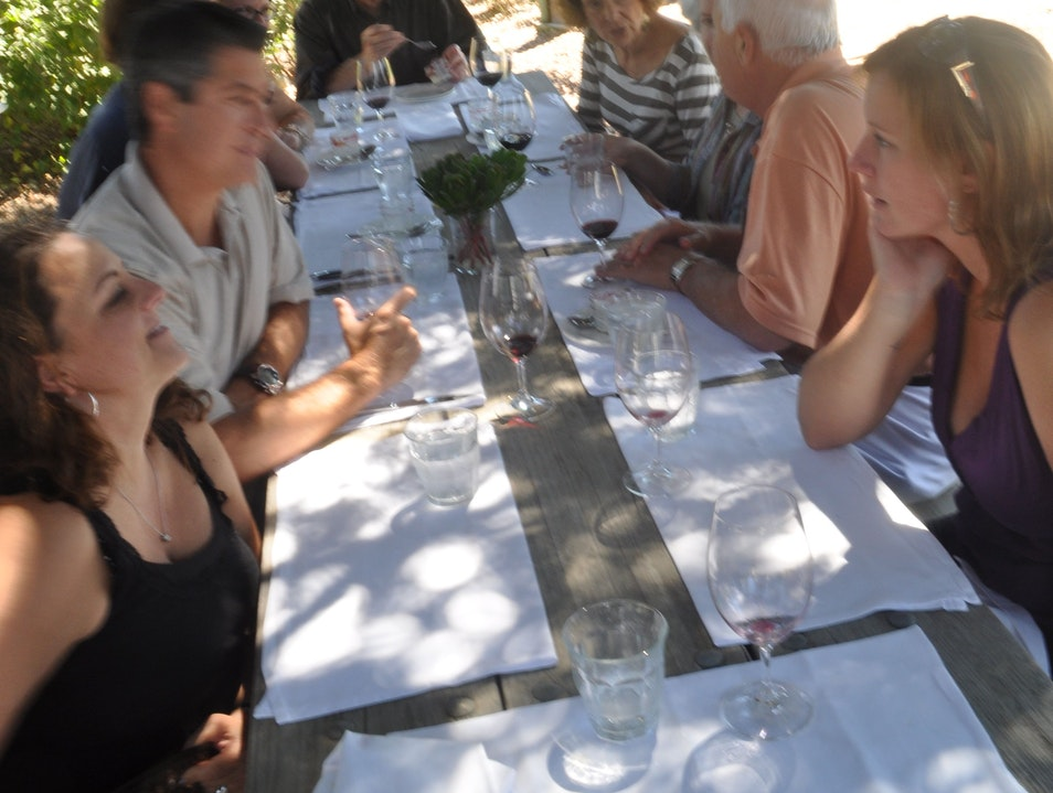 Farm to Table Lunch at Long Meadow Ranch