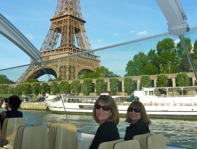 The Eiffel Tower ride