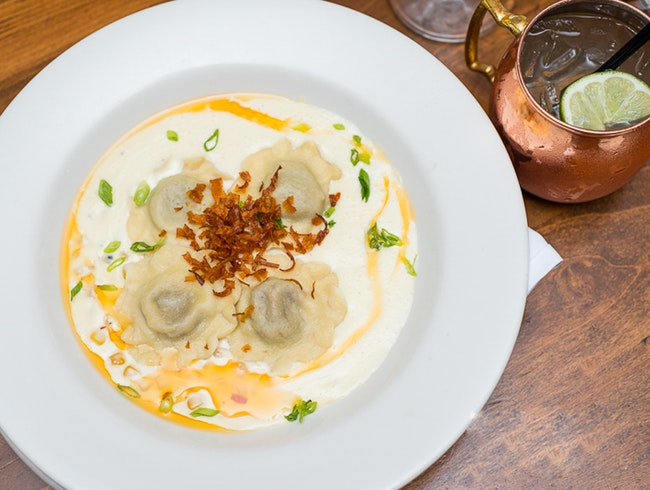 Sink Your Teeth into Bison Ravioli