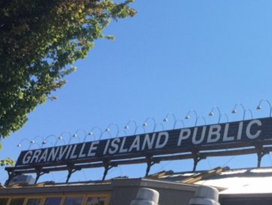 Explore the public market and more on Granville Island