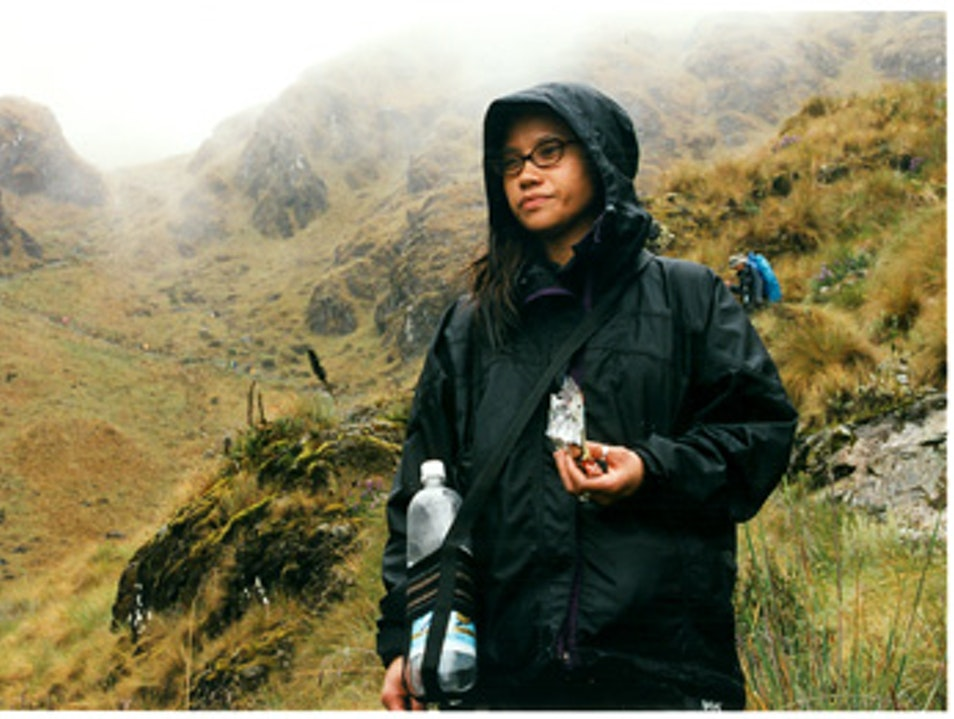 Dead Woman's Pass Almost Killed This Woman Urubamba  Peru