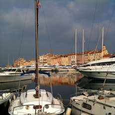 Port of Saint Tropez
