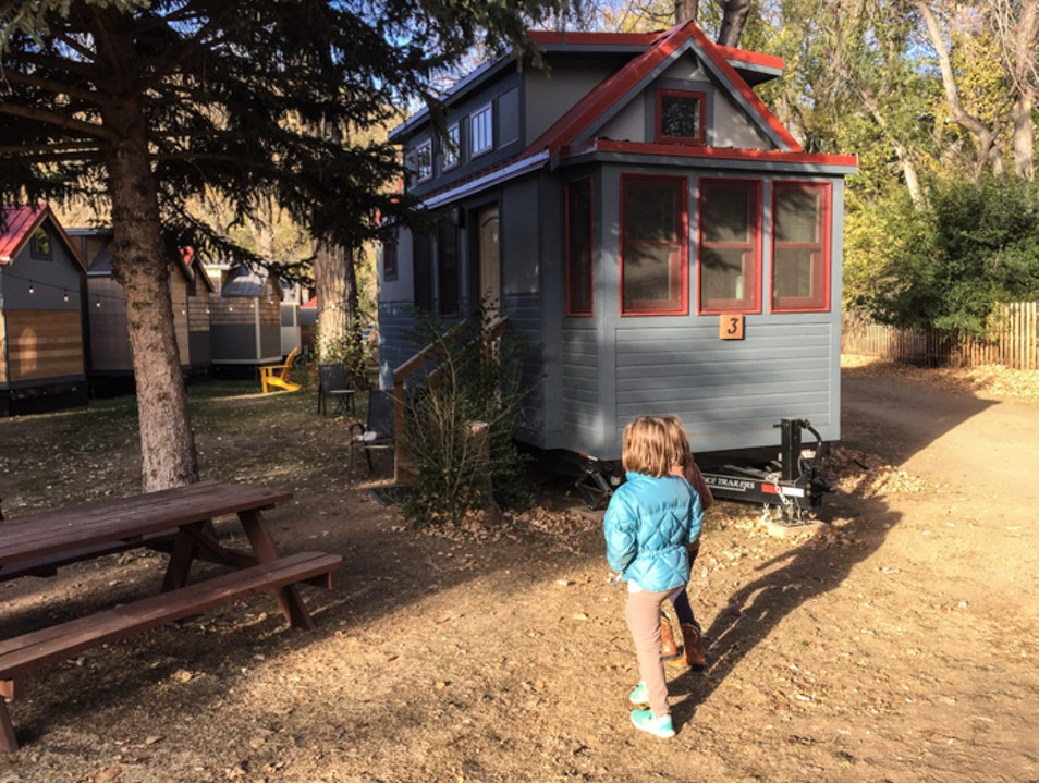 A small vacation at the WeeCasa tiny home hotel in Lyons Lyons Colorado United States