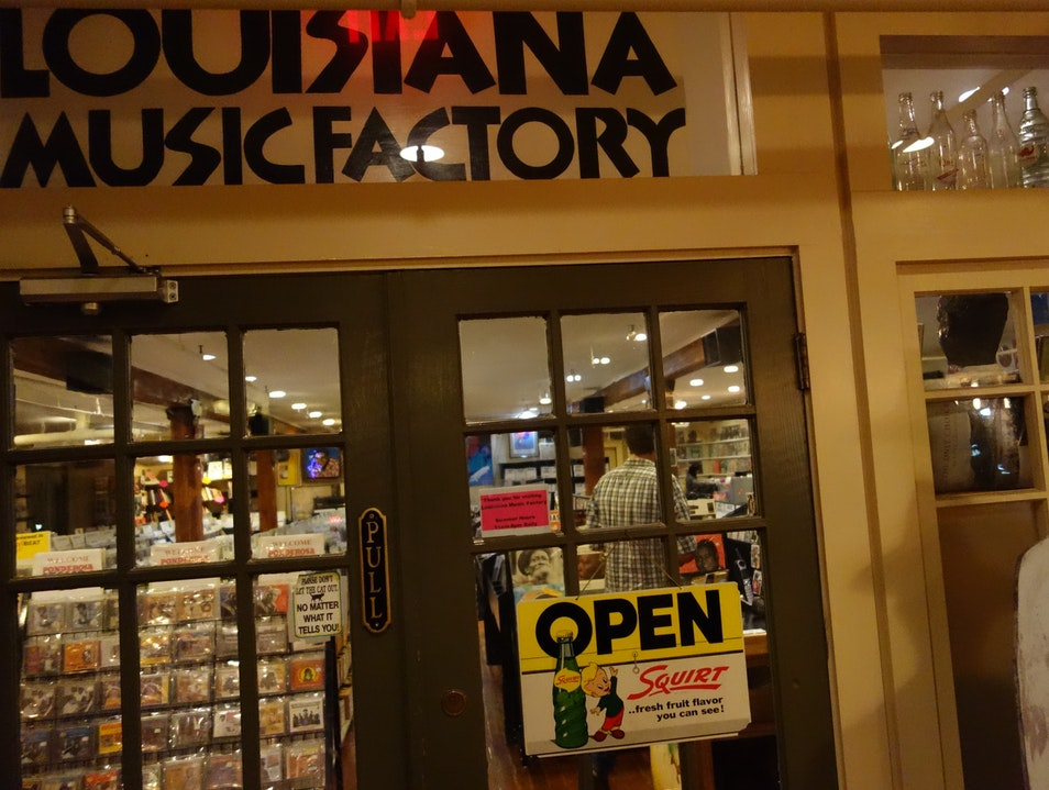 An indie record store with a local focus New Orleans Louisiana United States
