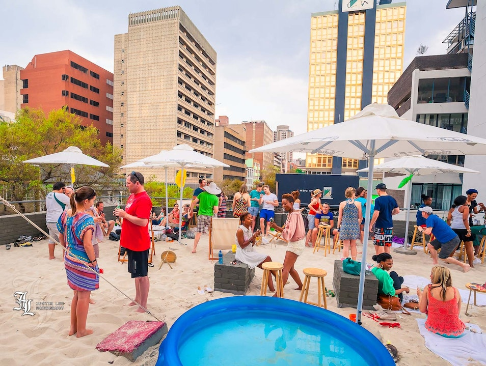 There's a Beach.... in Town! Johannesburg  South Africa