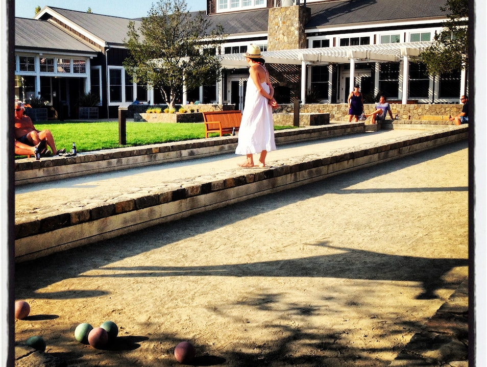Bocce Beauty in Napa Napa California United States