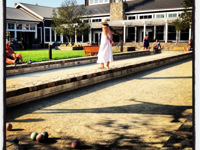 Bocce Beauty in Napa