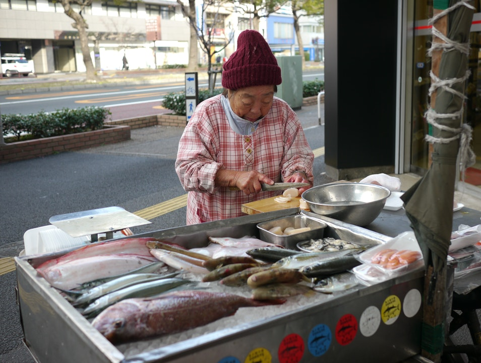 Mobile Fishmonger Takamatsu  Japan