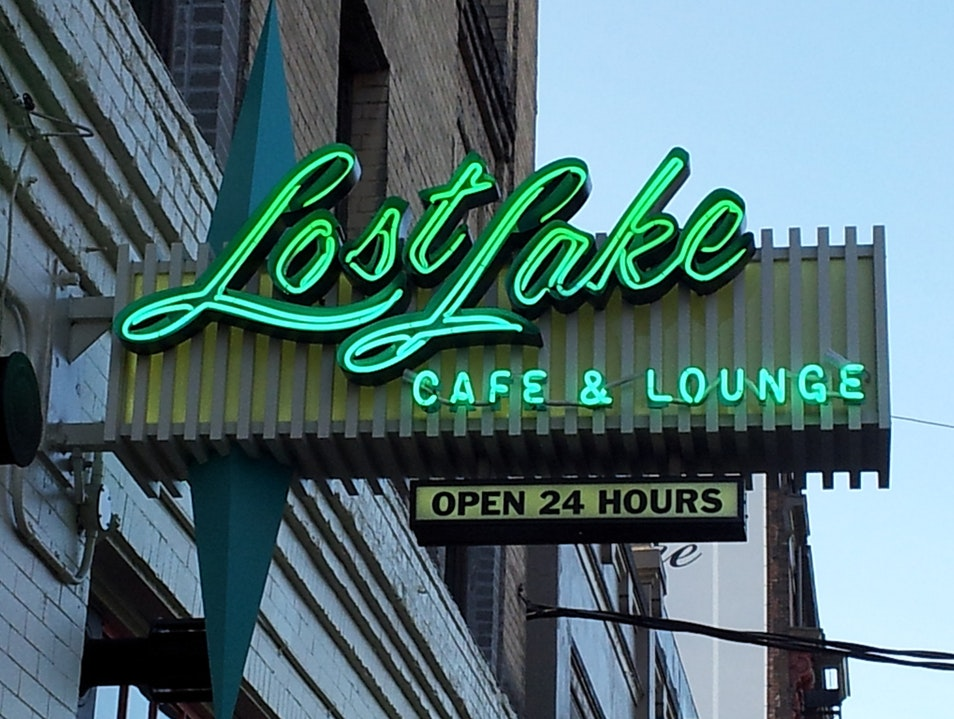 Happy Hour Breakfast at Lost Lake Seattle Washington United States