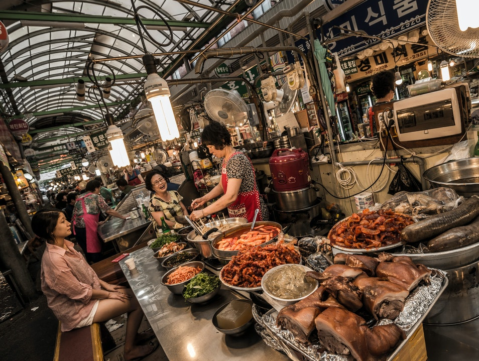 Korean Dining: Barbecue and Beyond Seoul  South Korea