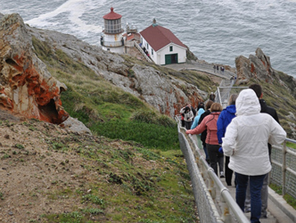 300 Steps Down (and Up) to the Point Reyes Lighthouse