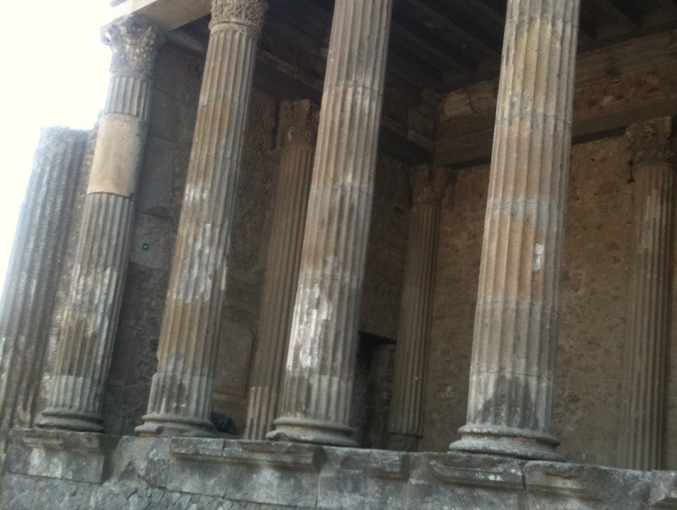 Pompeii, up close and personal