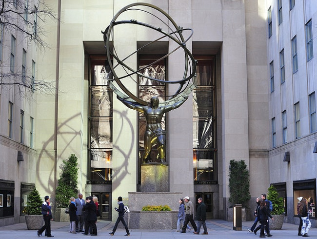 Art in Rockefeller Center