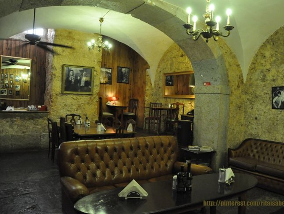 A Bar, Restaurant, and Art Gallery in One Lisbon  Portugal
