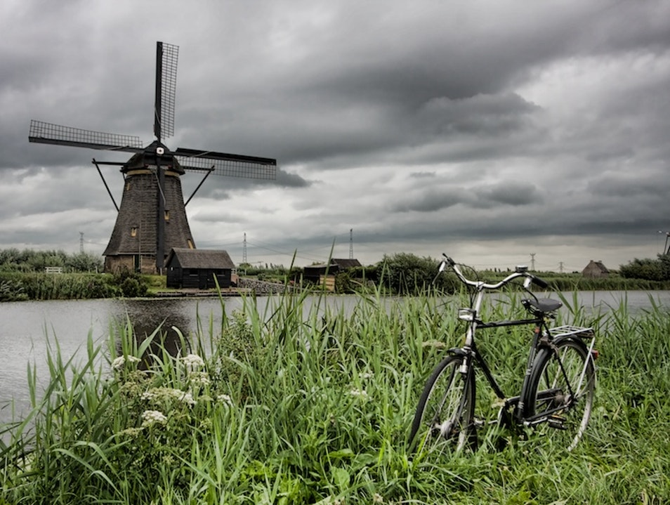Milling around Rotterdam Kinderdijk  The Netherlands
