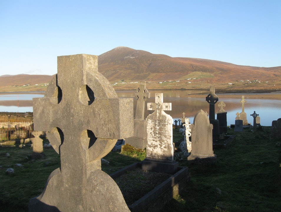 On the Island with St. Dymphna Mayo  Ireland