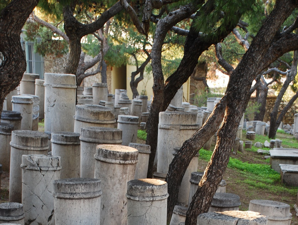 Athens Tips Part 27 - Kerameikos Graveyard Athens  Greece