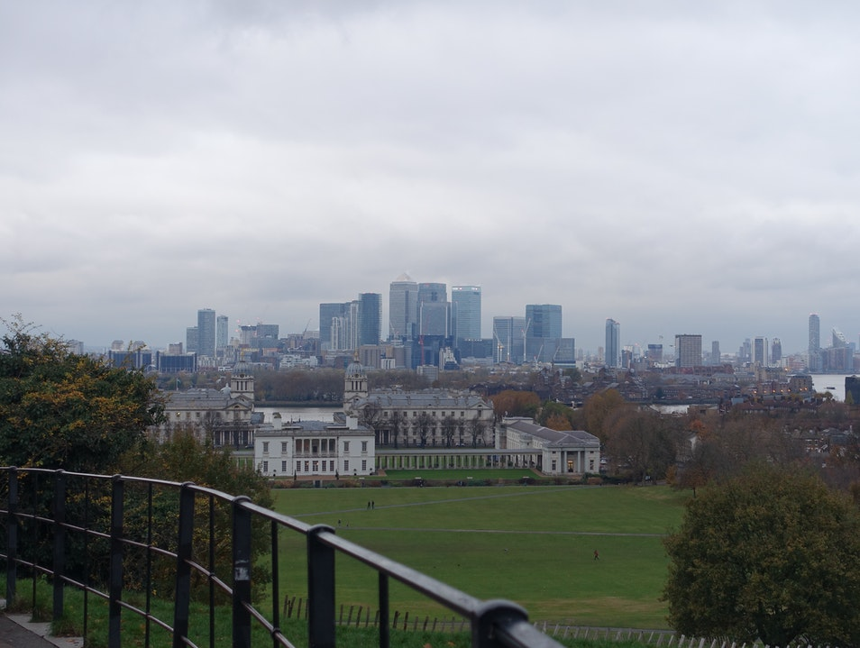 Stroll Along Greenwich Park London  United Kingdom