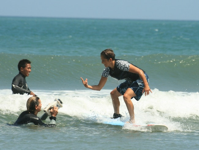 Surf & Yoga....Tons of Fun!