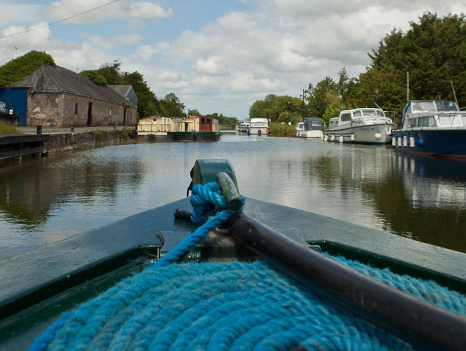 A Week on an Inland Barge Laois  Ireland