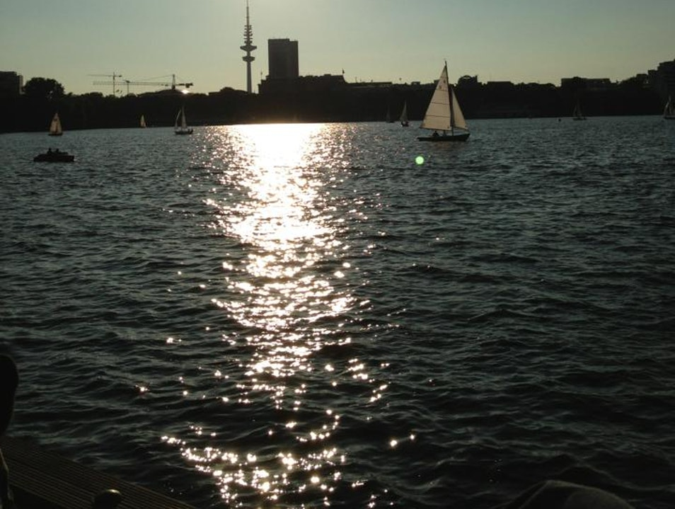 If there is sun in Hamburg, there is no better place to be. Hamburg  Germany