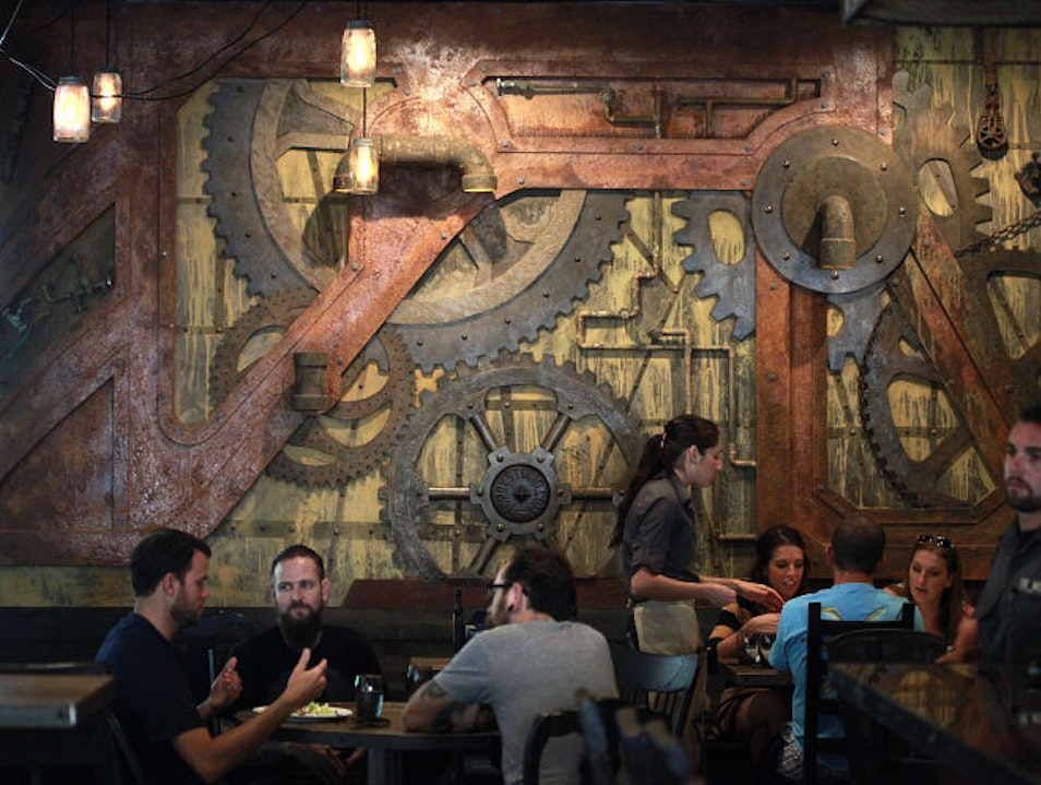 A Restaurant in St. Petersburg, Florida, has Interiors Designed by a Restorer of the Sistine Chapel Saint Petersburg Florida United States