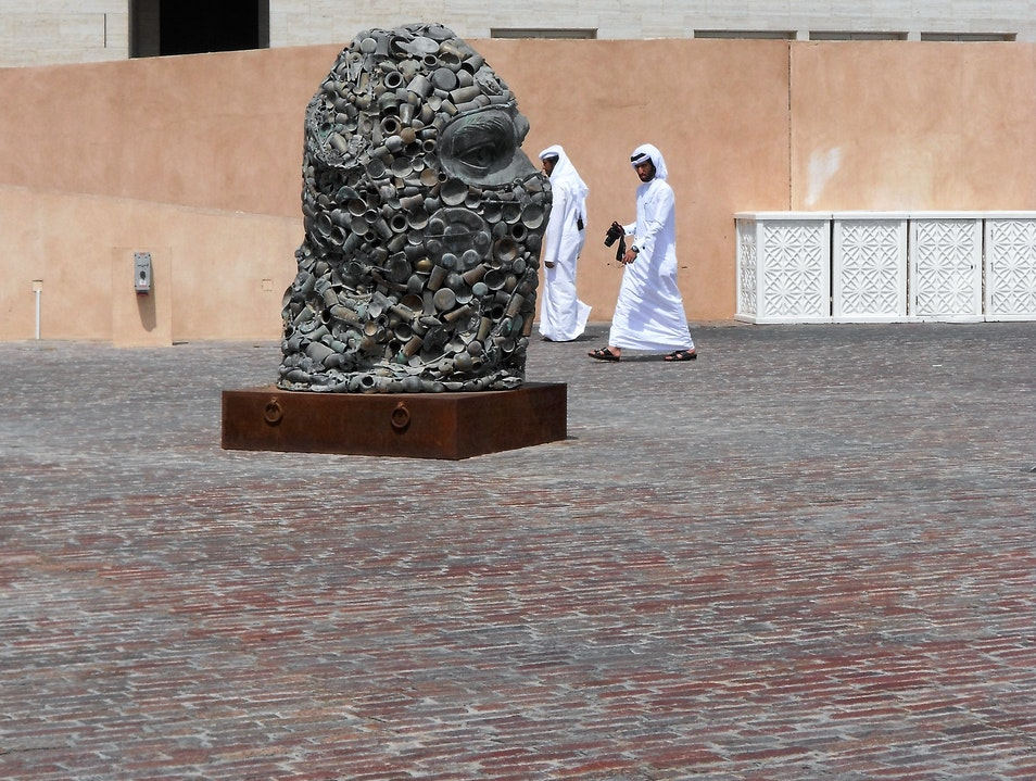 Great place to visit art galleries Doha  Qatar