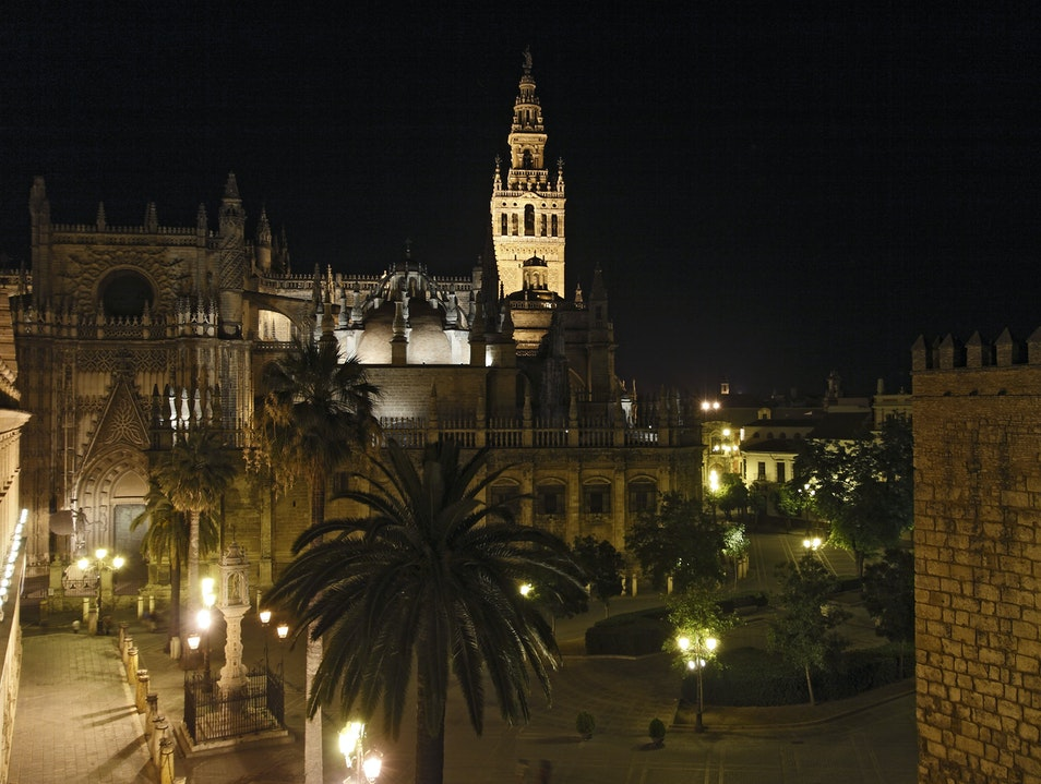Best views in Sevilla Seville  Spain