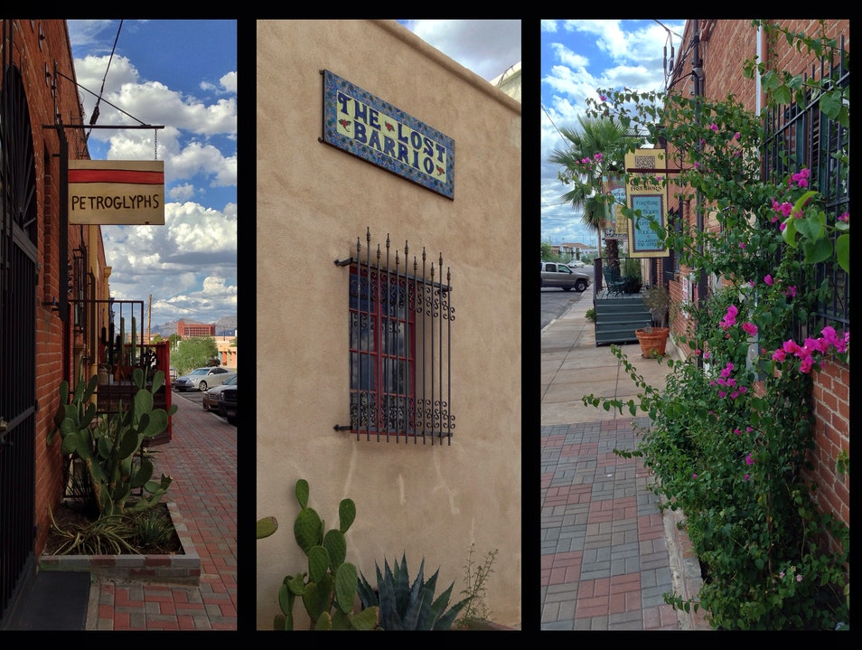 Finds in the Lost Barrio Tucson Arizona United States